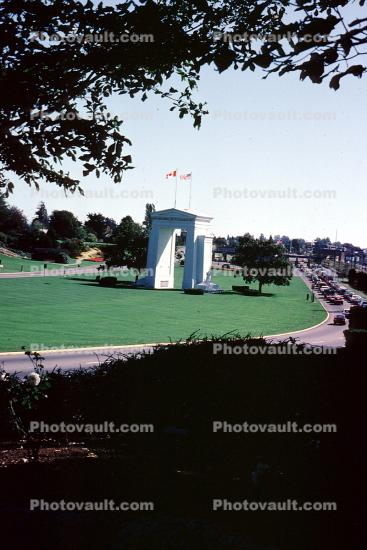 Peace Arch Park, Bellingham, Border