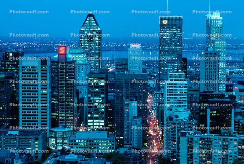 Toronto Cityscape, Skyline, Building, Twilight, Dusk, Dawn