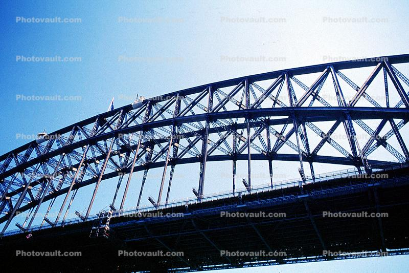 Sydney Harbor Bridge, Steel Through Arch Bridge