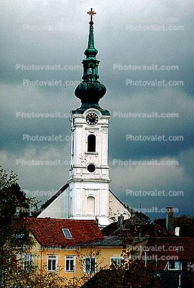 Clcok Tower, Steeple, Church