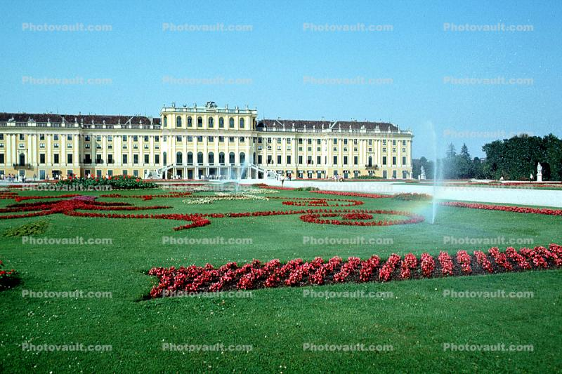 Palace and Gardens of Schšnbrunn, Vienna