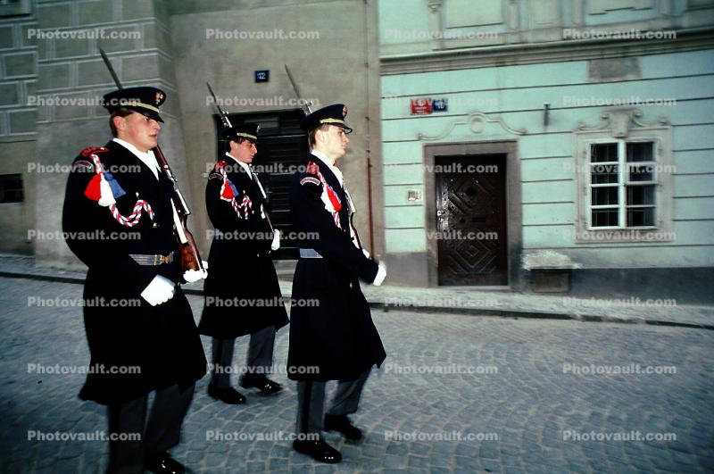 Marching Soldiers, Changing of the Guard, Prague