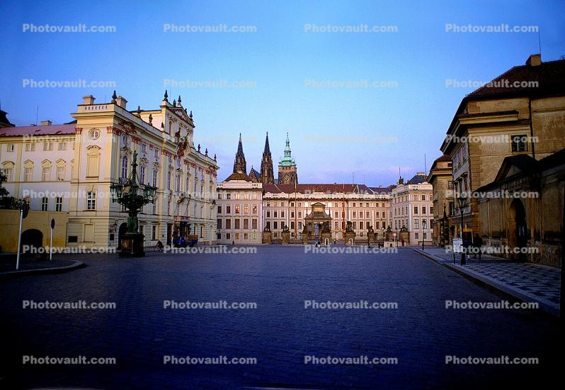 Hradcany Square, Prague Castle