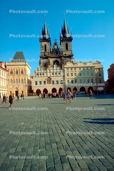 Old Town Square, Prague, Church of Our Lady