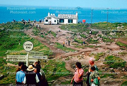 First and Last House, Lands End, England, 1950's