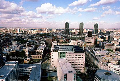 London, Cityscape, skyline, buildings, skyscraper, Downtown, Metropolitan, Metro, Outdoors, Outside, Exterior