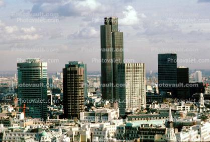 London Cityscape, skyline, buildings, skyscraper