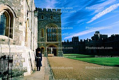 Windsor Castle, England, landmark