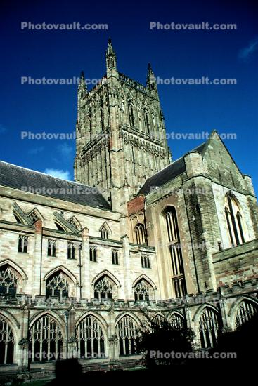 Worcester Cathedral, Cathedral Church of Christ and the Blessed Virgin Mary, County, Worcestershire, England
