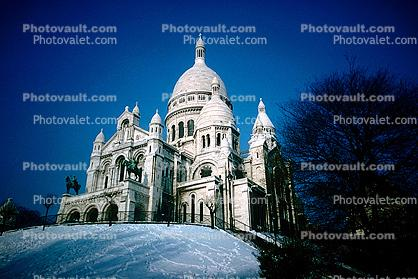 The Sacre Coeur, January 1966, 1960's
