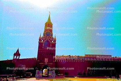 Red Square, Tower, Building