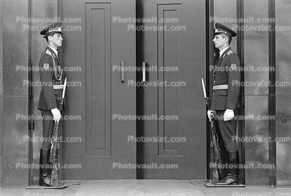 Guards at Lenins Tomb, Red-Square, Russian Army, Door, Doorway