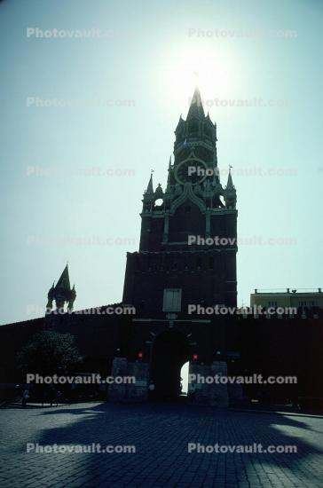 Tower, Red Square, building