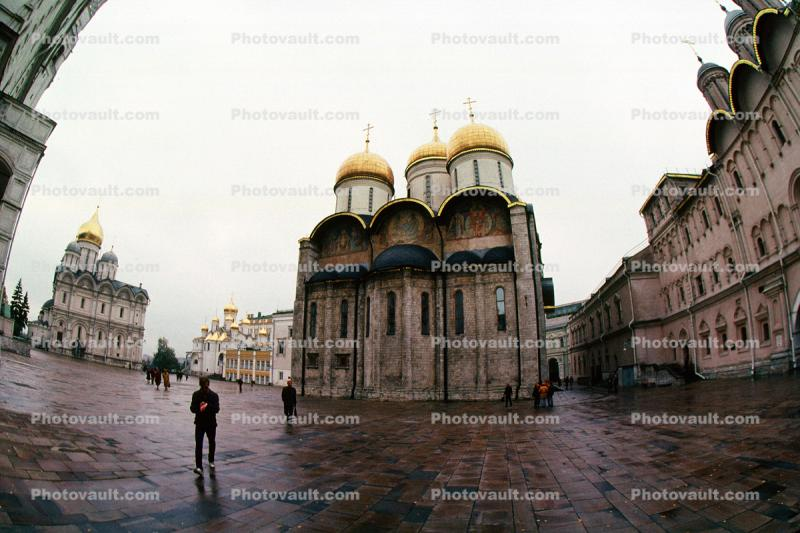the Archangel's Cathedral, Russian Orthodox Church, building