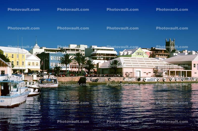 Waterfront, Docks, harbor, building, Hamilton