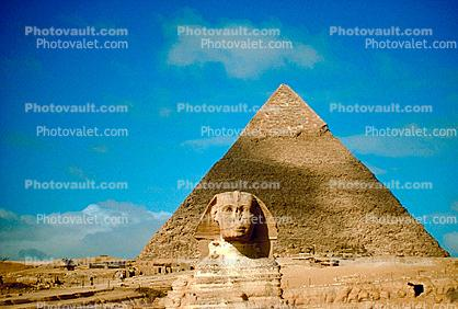 The Great Pyramid of Cheops, Sphinx