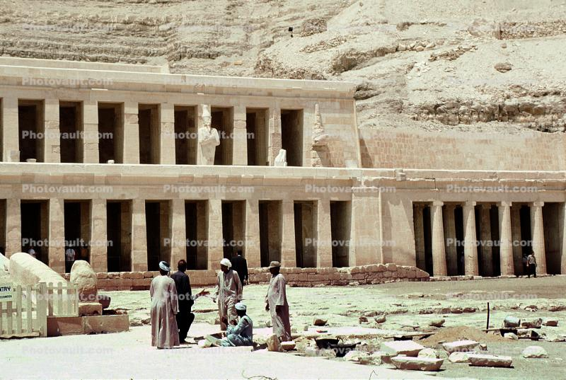 Temple of Queen Hatshepsut, Mortuary Temple of Queen Hatshepsut, dedicated to the sun god Amon-Ra