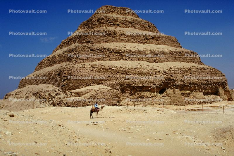Pyramid of Djoser, Saqqara necropolis, The Stepped Pyramid of Zozer