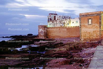 Buildings, Wall, Essaouira