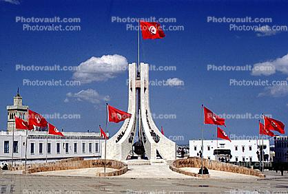 National Monument to Independence, Memorial to Tunisian Martyrs, Place de la Kasbah, Tunis, Tunisia, famous landmark