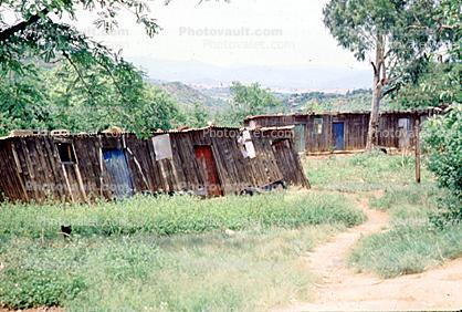Shanty town, Shantytown, homes, buildings, Manzini