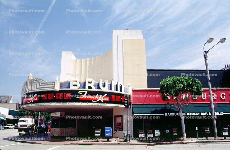 Bruin Theater, Westwood Village, marquee