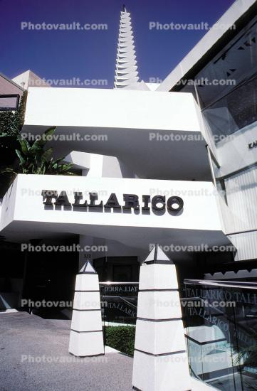 Tallarico, Rodeo Drive, shops, stores, building