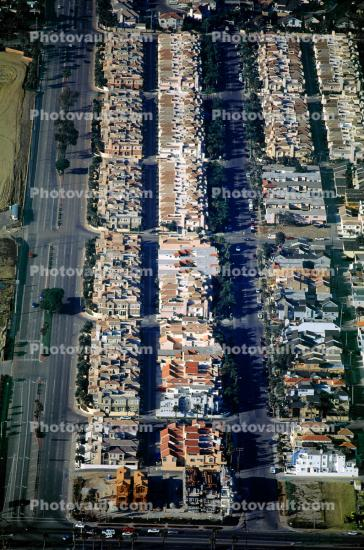 Condominiums, Apartments, Rooftops, residential, cookie cutter homes, urban texture