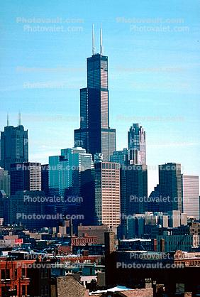 Willis Tower, Buildings, cityscape