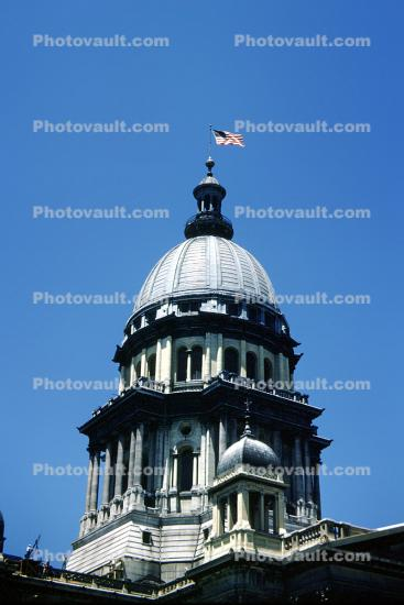 Illinois State Capitol, Building