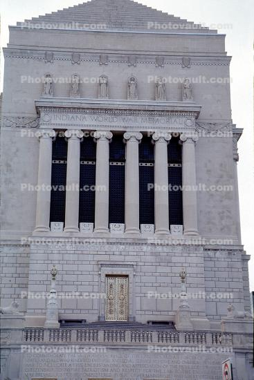 Indiana World War Memorial Plaza, monument, building, cenotaph, Indianapolis