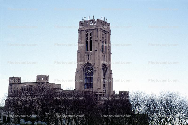 Scottish Rite Cathedral, Church, Building, square tower, landmark, Indianapolis