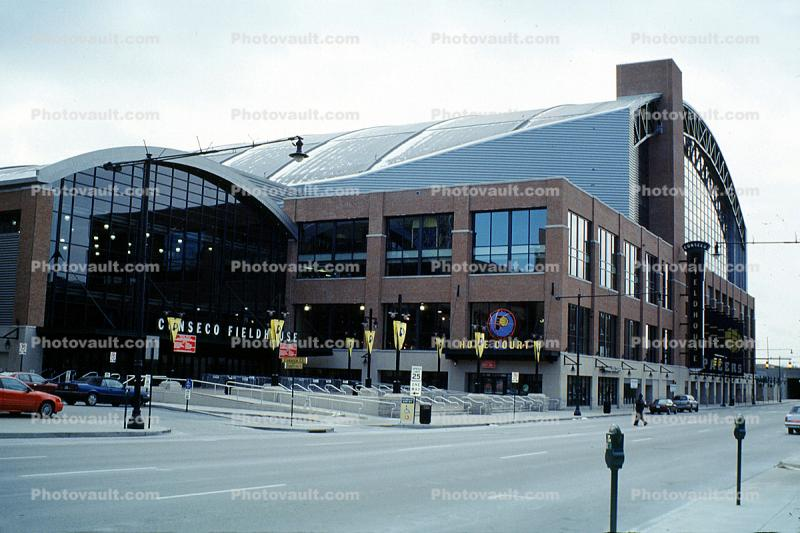 Conseco Field House, Fieldhouse, Basketball Stadium, building, landmark, Indianapolis
