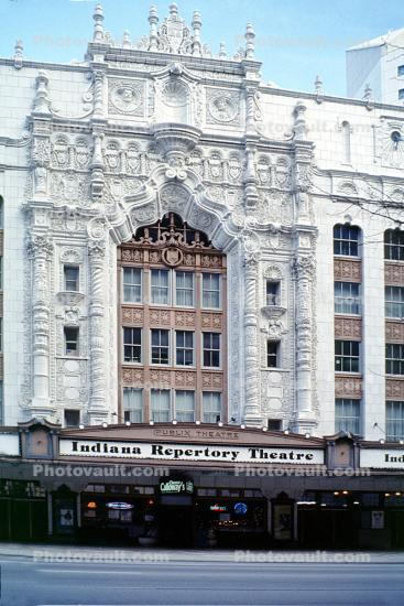 Indiana Repertory Theatre, building, Indianapolis
