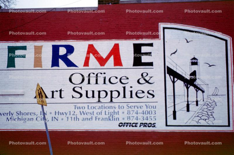 Michigan City, Firme Office & Art Supplies