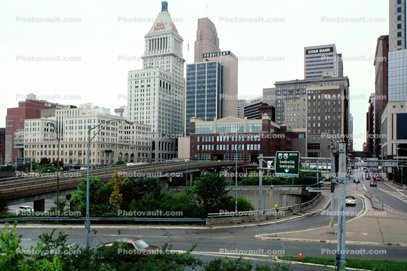 skyline, Cincinnati, Downtown