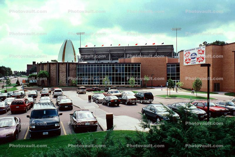 Professional Football Hall of Fame, Canton, landmark, Car, Automobile, Vehicle