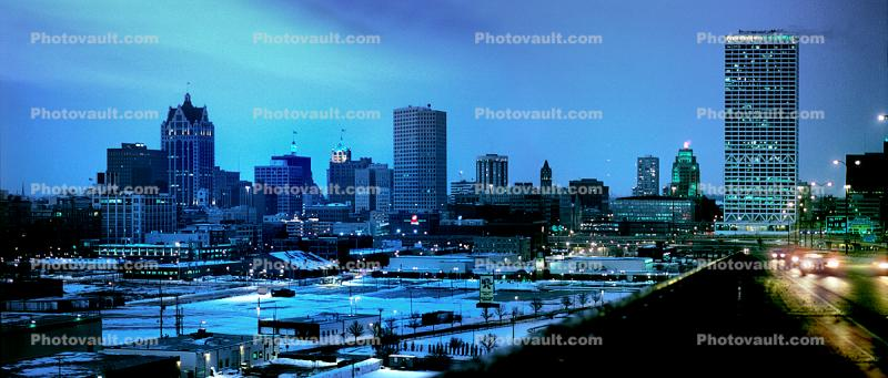 Downtown, Milwaukee, Panorama