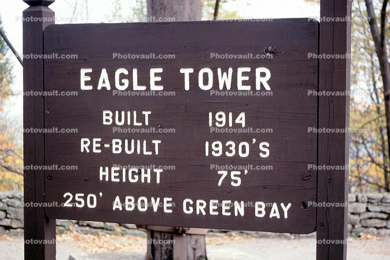 Eagle Tower, lockout , Green Bay Peninsula, Door County