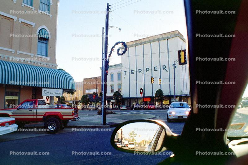Teppers, building, downtown, Selma, Cars, automobile, vehicles