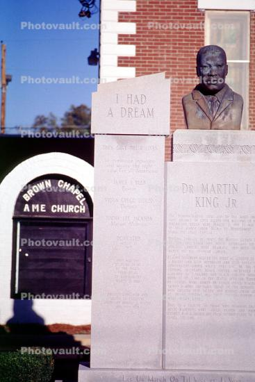MLK, Brown Chapel, Brown Chapel AME Church, Selma, I had a dream, Martin Luther King
