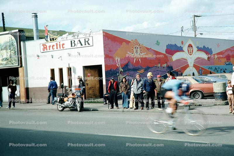 Arctic Bar, 30 Mile Bicycle Race