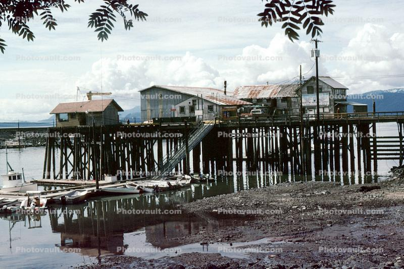 Wrangell Boat Harbor, Piers and Docks