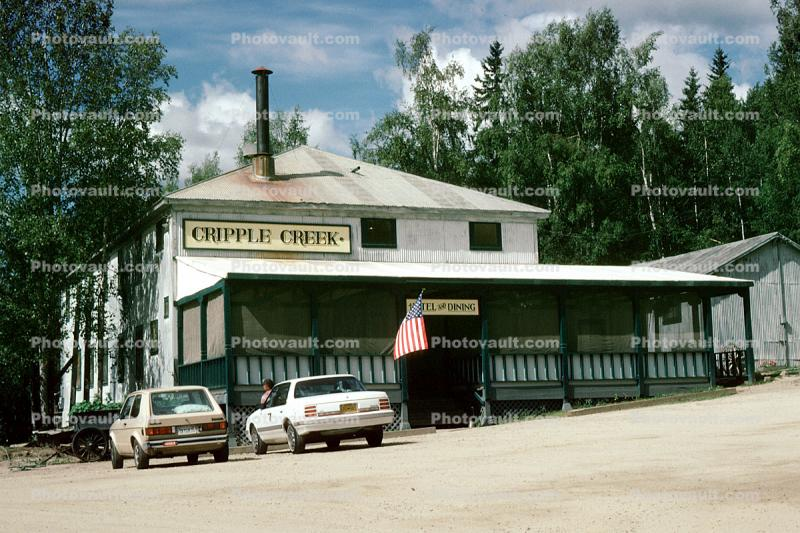 Cripple Creek Campground, Hotel and Dining, Ester, Cars, vehicles, automobiles