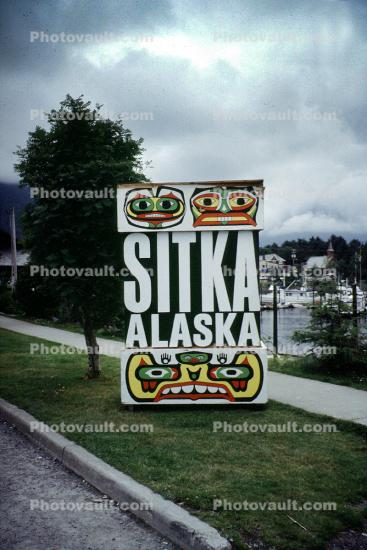 Sitka Alaska, eyes, totem pole eyes, teeth