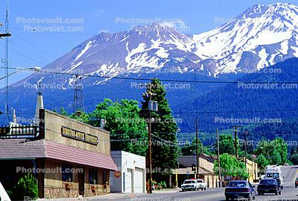 Mount Shasta, cars, automobiles, vehicles