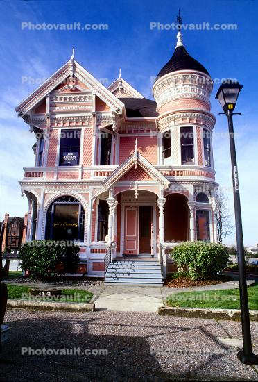 "Milton Carson Home, ""Pink Lady"", Queen Anne style Victorian, Old Town"