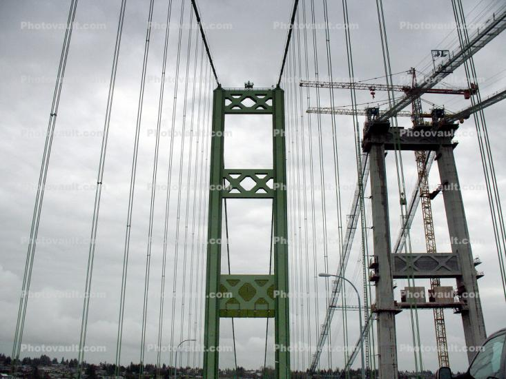 Tacoma Narrows Bridge, Suspension Bridge