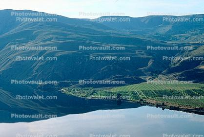 Columbia River, Fields, Chelan