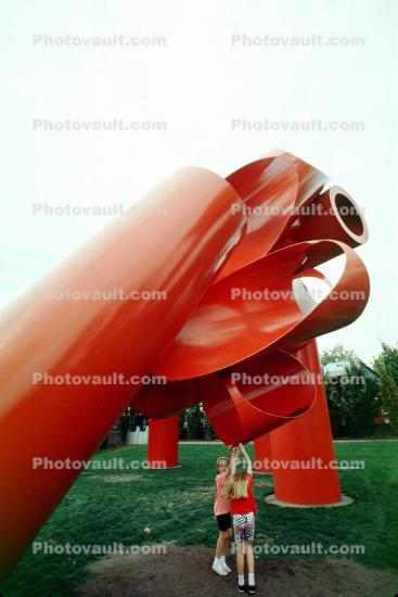 Olympic Iliad, Outdoor Art Installments, red Sculpture